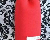 Neoprene Lens Case - Red