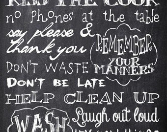 Popular items for chalkboard on Etsy