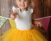 You Are My Sunshine Bright Yellow Tutu