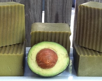 Double Avocado Soap, luxurious large handmade bar