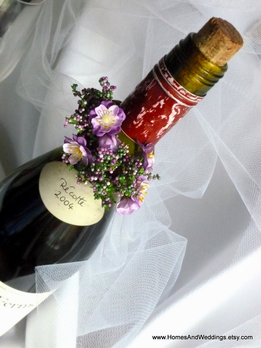 items similar to bridal shower decor wine bottle