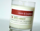 No. 147: APPLE HARVEST // Natural Soy Candle // 13 oz // Highly Scented