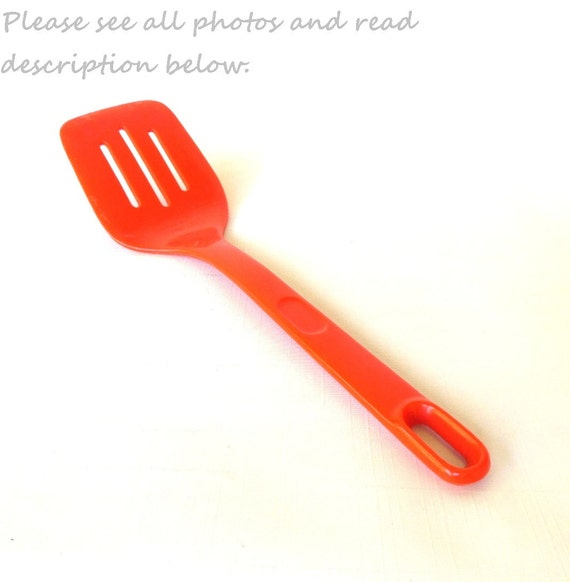 Rubbermaid Party Plan Plastic Spatula Turner 1980 Kitchen