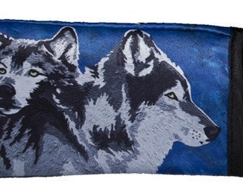 Wolf Key Chain by Salvador Kitti - From My Painting, Spirited Pack