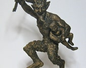 Krampus Statue II, Bronze finish