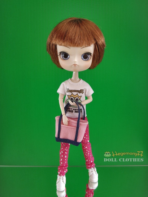 Tote Bag for one sixth scale fashion Dolls - Blythe Dal Pullip Barbie Monster High Momoko ect