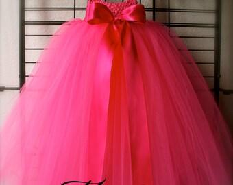Hot Pink Empire Tutu Dress
