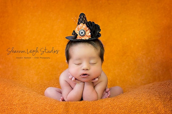 Sweet Newborn Witch Hat Baby Witch Hat ORIGINAL design From The Sweet And Spooky Halloween Collection Must Have Halloween Photo Prop