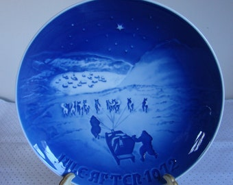 1972 Christmas in Greenland Plate