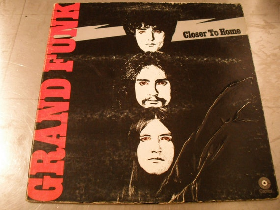 Grand Funk Railroad Closer To Home 3rd Studio By