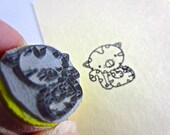"""Kitty Cat Stamp - Adopt Me Campaign Stamp 005 - 3/4"""" or 2.2cm"""