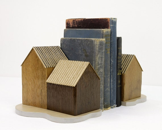 Cedar Cabin Bookends