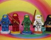 Ninja Team Cake Topper