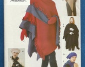 Vogue 9689 Shawls Hats Gloves Mittens and Scarf The Perfect Winter Accessories UNCUT