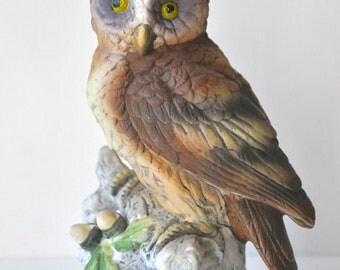 Vintage Lefton Owl Figurine