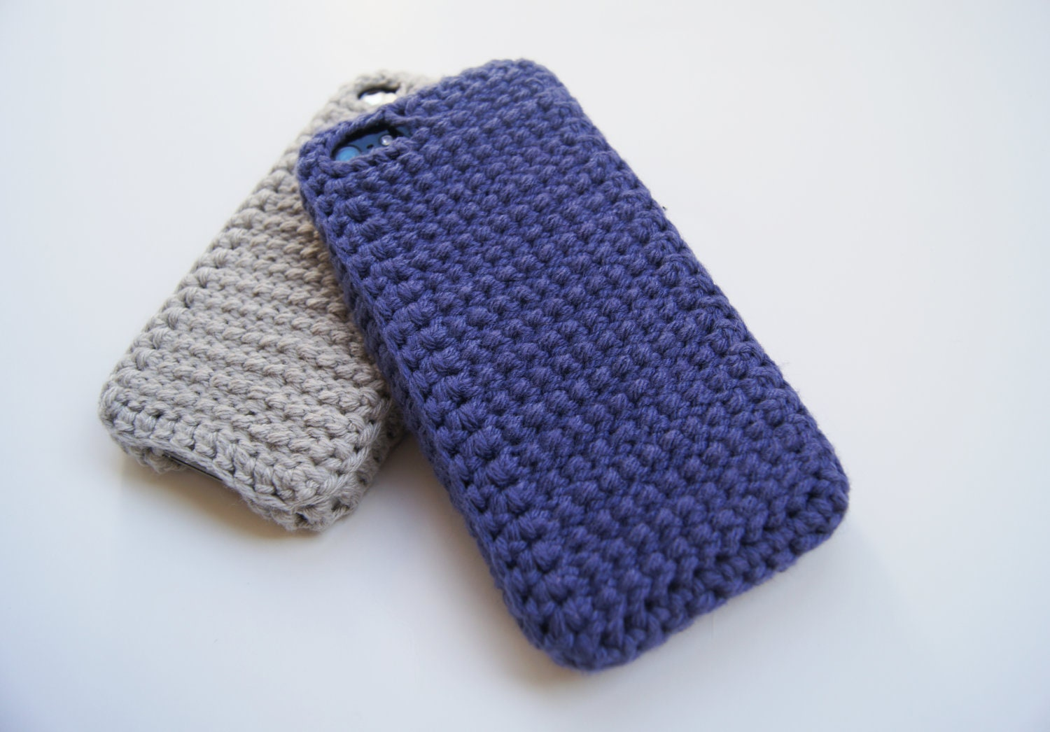 iPhone 4 5 6 and 6 Crocheted Cover / Case Choose by ...