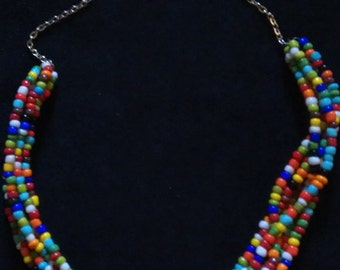 Walk-off Win Beaded Necklace