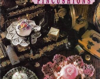 Antique Pincushions Crochet Pattern Book-  Annies Attic 87A99