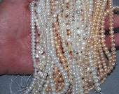 Pearl Lot 17 Strands Freshwater Pearls