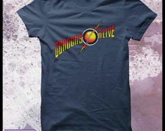Flash Gordon tshirt mens - Gordon's alive