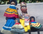 Instant Vintage Collection of Handcrafted African Folk Art Dolls