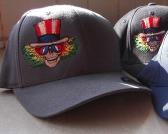 Psycle Sam Flexfit Grateful Dead Hat