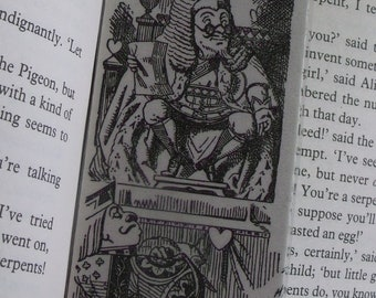 Alice in Wonderland Bookmark-AIW02