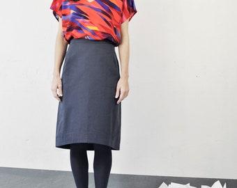 fashion, top, viscose shirt, pattern, colorful, sleeveless, oversized