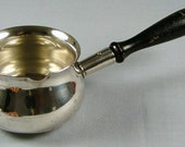 Silverplate Over Copper Sauceboat ca. 1940-1955