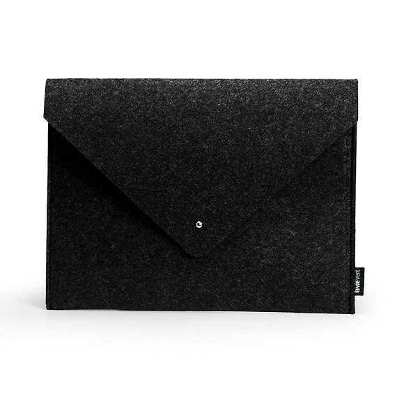 Felt Envelope Black Grey iPad Mini Sleeve iPad Mini Case,iPad Mini Cover iPad Mini iPad Mini Bag iPad Mini Skin :E1142m