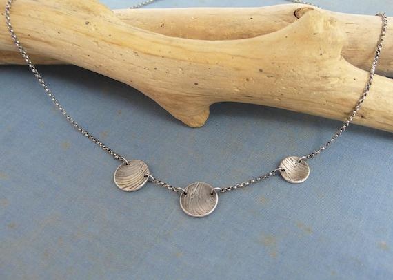 wood grain necklace | beach jewelry | drift wood | Beach Wood Necklace