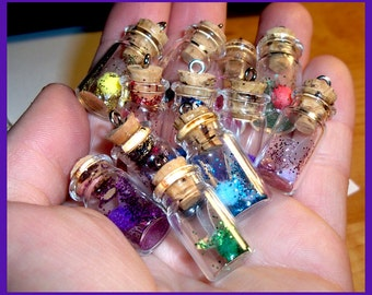 Fairy in a bottle -  Charm or Necklace
