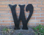 U.S. FREE Shipping Wedding Guest Book Alternative 2 feet tall Wood Letter Initial Choose ABCDEFGHIJKLMNOPQRSTUVWXYZ