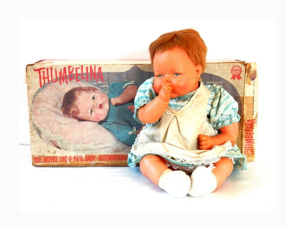 1961 Ideal Thumbelina Doll With Original Box
