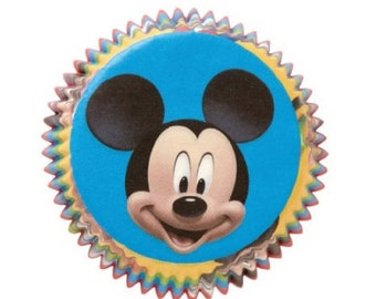 Disney's Mickey Mouse Baking Cups, Cupcake Liners