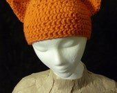 Kitty Cat Beanie - Toddler to Adult Sizes