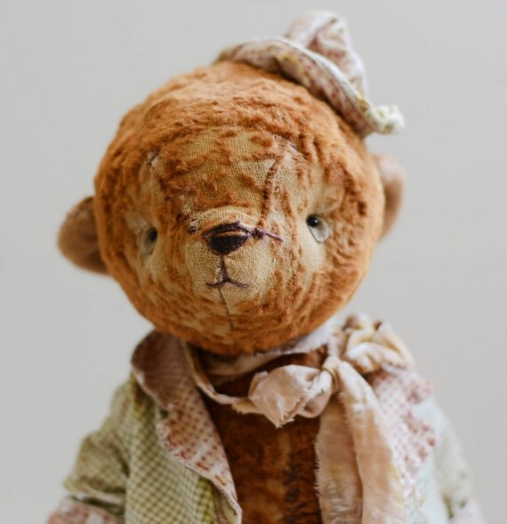 Teddy Bear Afanasy - Dreams Of  Dancing -Cottage Chic -Foxy