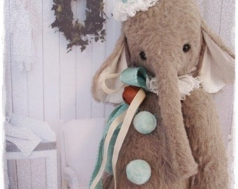 "PDF  Instant Download Pattern / E-Book Elephant  "" EDDIE "" :) - 10 Inch - Eileen Seifert - Teddy-Manufaktur.de"
