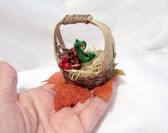 Baby Dragon Hatching from his Egg: Dragon Art Doll