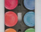 Watercolor Tray: Decorative Light Switch Cover - Switchplate
