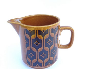Hornsea Heirloom creamer, 1970s.  Made in England