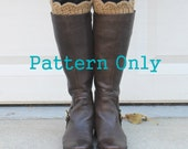 Crochet Pattern: Boot Topper, Boot Socks, Boot Cuffs - PDF PATTERN ONLY