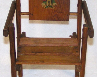 FOLDUP WOODEN DOLL Chair