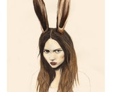 Hare - LIMITED EDITION PRINT - Giclee Print A3
