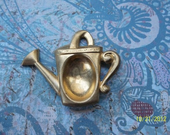 1 Vintage Brass Water Can Setting   ...   B - 2