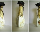 OOAK--Decorative bottle - agnieszkamalik