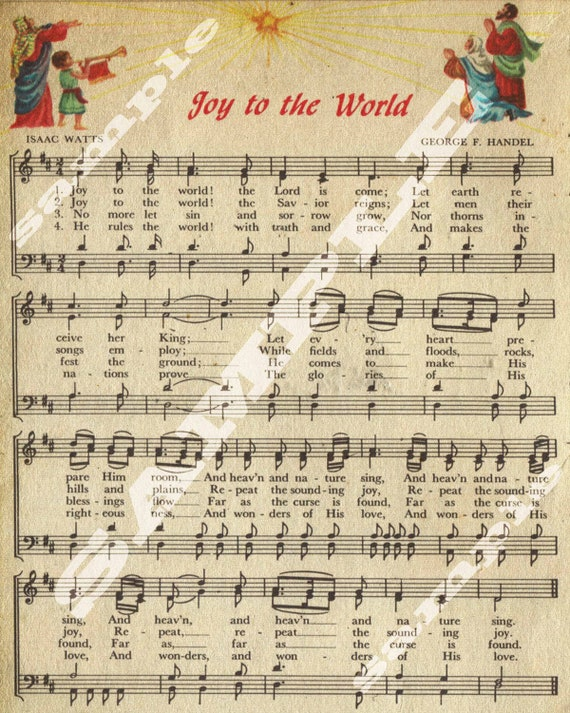 Vintage Sheet Music Printable Vintage sheet music