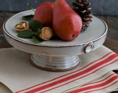 Canterbury Cake Stand and our Linen Dish Towel