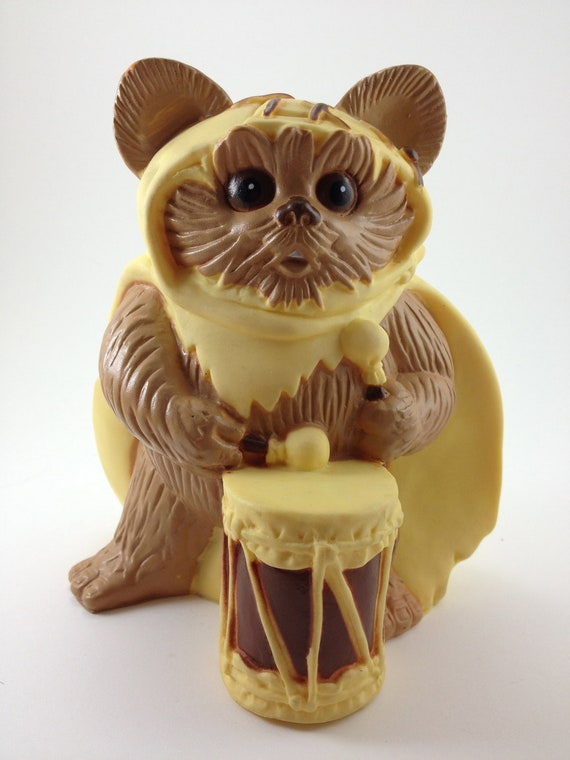 Star Wars 80s Toys : Ewok bank s toy wicket star wars collectable by