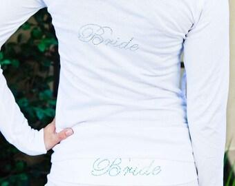 Bride . Bride Yoga Pants. Bride Hoodie. Bride Sweatsuit. Bride Workout Pants. Bride Sweatpants Hoodie.